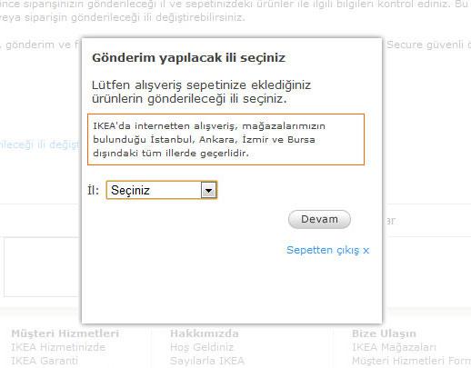 Ikea Online Alışveriş Sistemi Berkan Bağcı